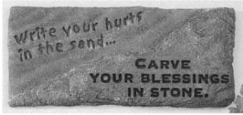 CARVE YOUR BLESSINGS